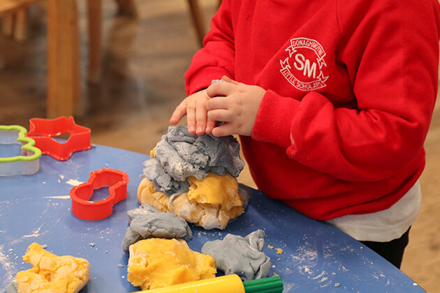 St. Michael's Little Scholars - Messy Play