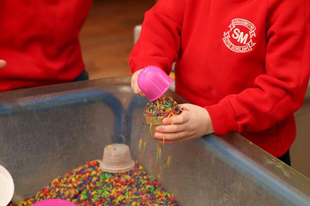 St. Michael's Little Scholars - Messy Play
